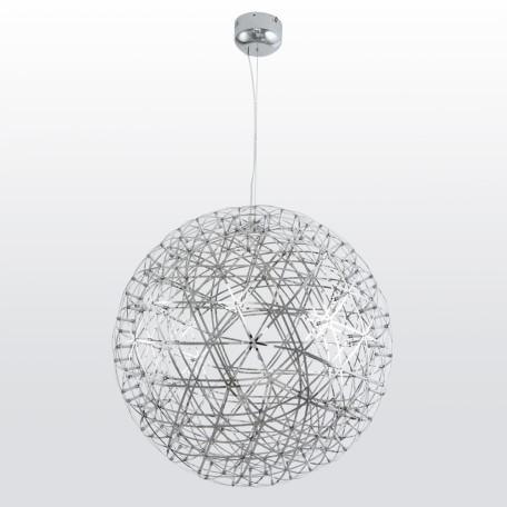 Подвесной светодиодный светильник Divinare Galassia 1030/02 SP-162, LED 60W 3000K 2170lm CRI≥80, хром, металл