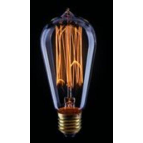 Лампа накаливания Voltega Loft LED 5917 прямосторонняя груша E27 60W, 2200K (теплый) 220-240V, гарантия 3 года