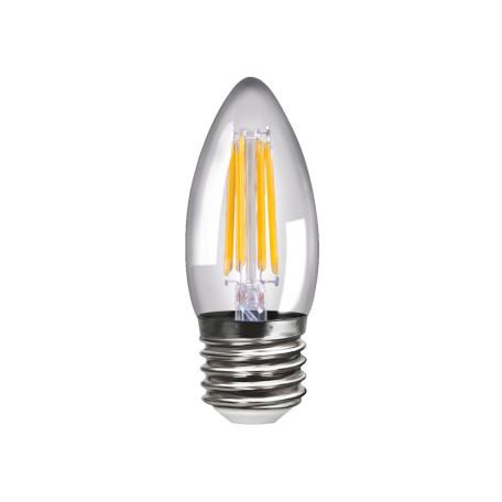 Светодиодная лампа Voltega 4667 C35 E27 4W, 4000K (дневной) 220V, гарантия 3 года