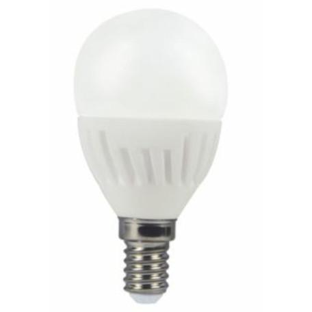 Светодиодная лампа Voltega 4694 шар E14 6W, 2800K (теплый) 220V, гарантия 3 года