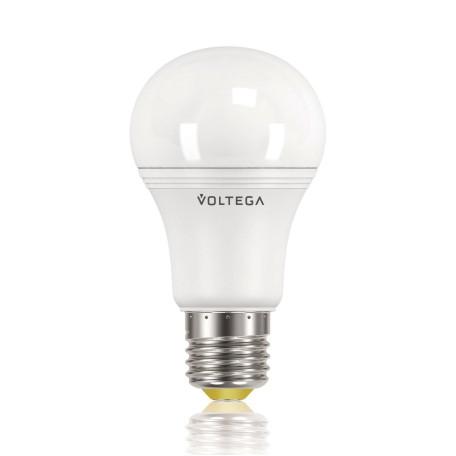 Светодиодная лампа Voltega 4710 A60 E27 9,5W, 2800K (теплый) 220V