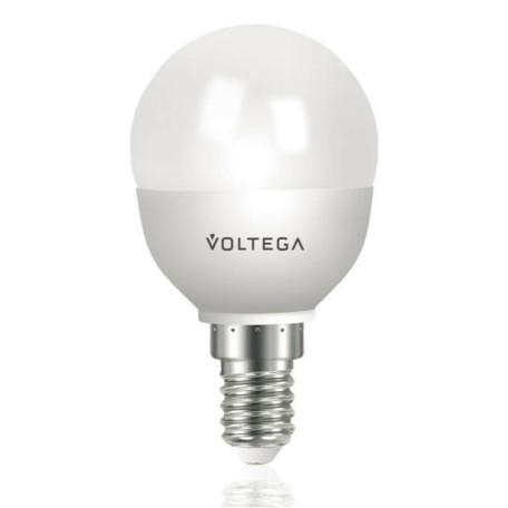 Светодиодная лампа Voltega 5748 G45 E14 5,4W, 4000K (дневной) 220V