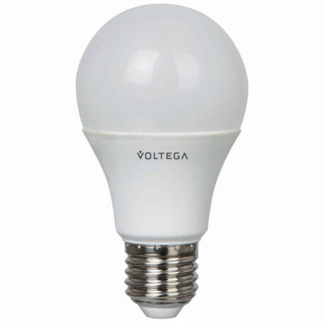 Светодиодная лампа Voltega 5753 A60 E27 8,5W, 2800K (теплый) 220V, гарантия 2 года