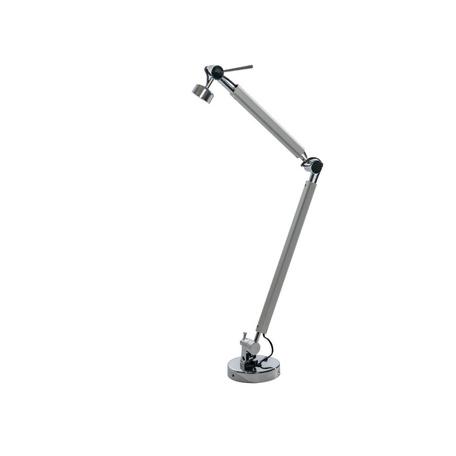 Основание настольной лампы Azzardo Zyta AZ2307, 1xE27x60W, серебро, хром, металл