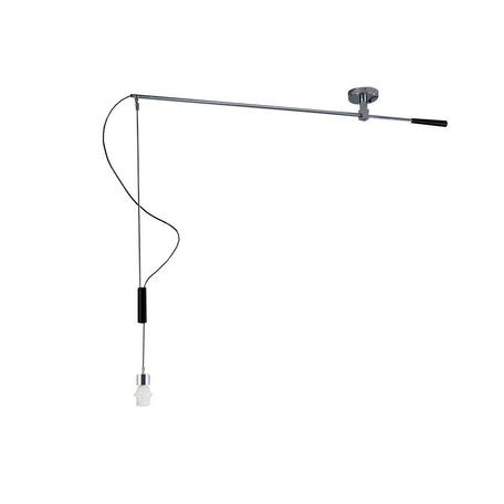 Основание подвесного светильника Azzardo Malaga AZ2313, 1xE27x60W, хром, металл