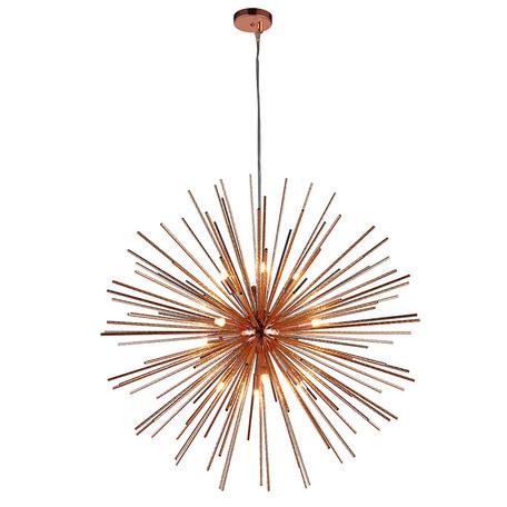 Основание подвесной люстры Azzardo Sirius AZ2118, 12xG9x40W, медь, металл
