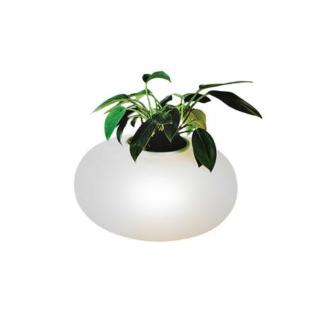 Светильник-ваза Azzardo Flora AZ0185, 1xE27x11W, белый, стекло