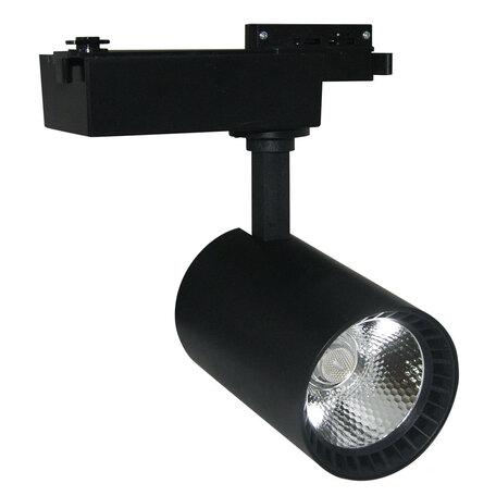 Светодиодный светильник Arte Lamp Vinsant A2664PL-1BK, LED 30W 4000K 1150lm CRI≥70, черный, пластик