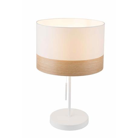 Настольная лампа Toplight Mabel TL1121-1T1, 1xE27x40W, бежевый, металл, текстиль с пластиком