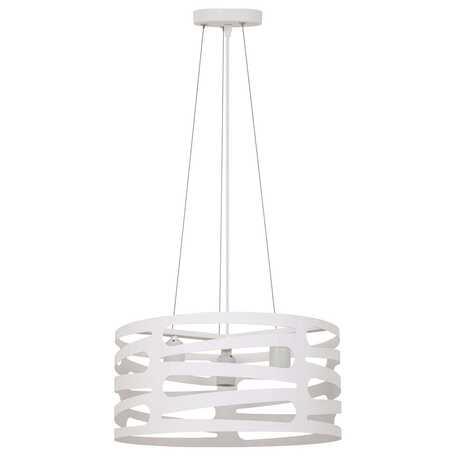 Подвесная люстра Toplight Laurel TL1167-3H, 3xE27x60W, белый, металл