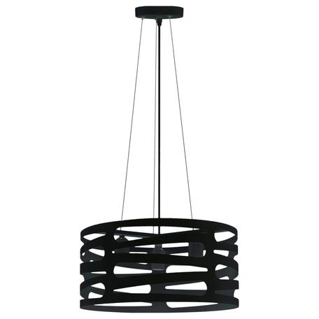 Подвесная люстра Toplight Laurel TL1167-3H1, 3xE27x60W, черный, металл