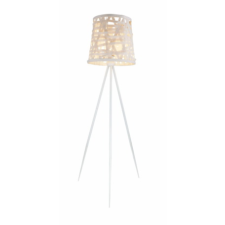 Торшер Toplight Patricia TL1122-1S, 1xE27x60W, белый, металл, бумага/картон