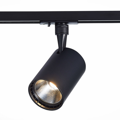 Светодиодный светильник с регулировкой направления света для шинной системы ST Luce Cami ST351.436.30.24, IP22, LED 30W 3000K 2700lm, черный, металл