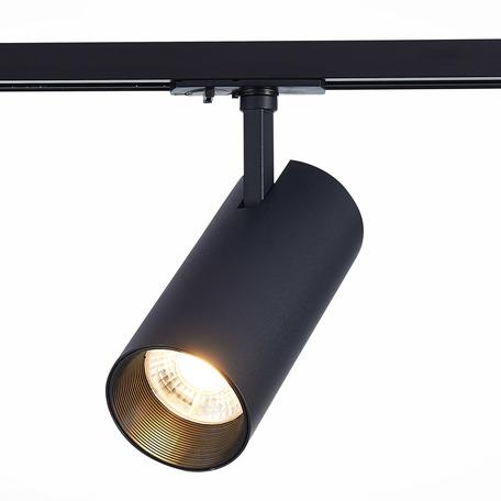 Светодиодный светильник с регулировкой направления света для шинной системы ST Luce Mono ST350.446.30.24, IP22, LED 30W 4000K 2700lm, черный, металл
