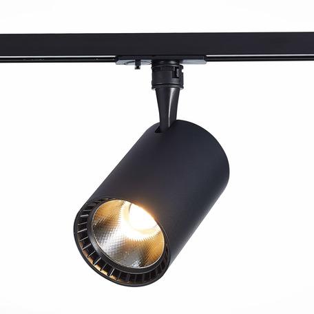 Светодиодный светильник с регулировкой направления света для шинной системы ST Luce Cami ST351.446.15.24, IP22, LED 15W 4000K 1350lm, черный, металл