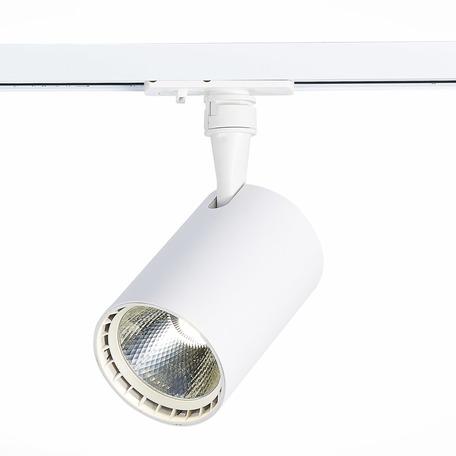 Светодиодный светильник с регулировкой направления света для шинной системы ST Luce Cami ST351.546.20.24, IP22, LED 20W 4000K 1800lm, белый, металл