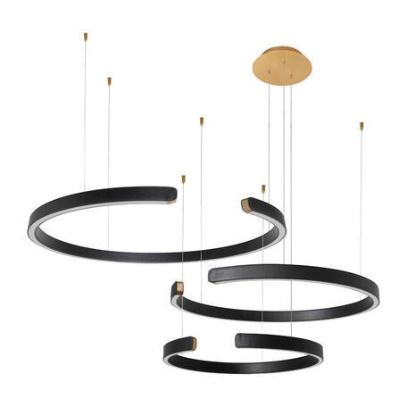 Светодиодный светильник Loft It Ring 10025/3 Black, LED 108W 3000K