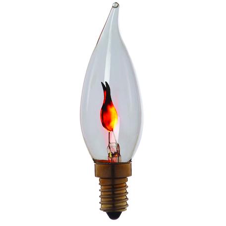 Лампа накаливания Loft It Edison Bulb 3503 свеча на ветру E14 3W