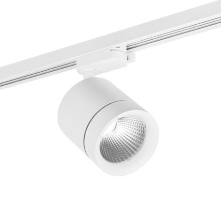 Светодиодный светильник для шинной системы Lightstar Canno 301262, LED 15W 3000K 960lm, белый, металл