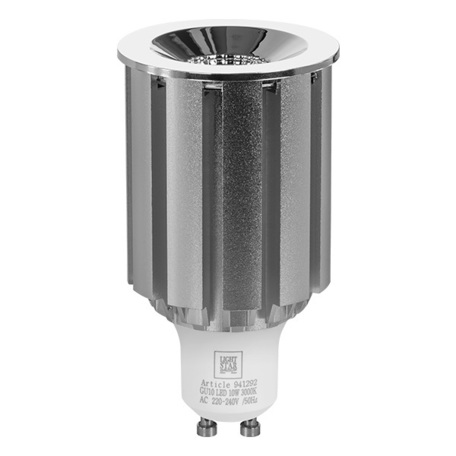 Светодиодная лампа Lightstar LED 941292 HP16 GU10 10W, 3000K (теплый) 220V