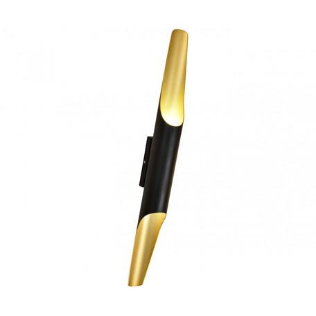 Настенный светильник Kink Light Бамбук 7011, 2xE27x40W, черный, металл