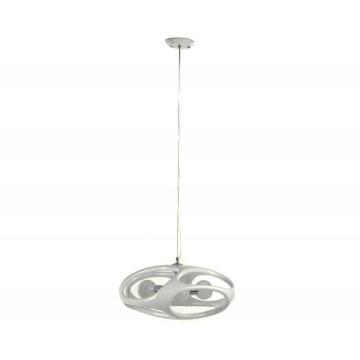 Подвесная люстра Kink Light Тимон 5333,01, 3xE27x15W, белый, пластик