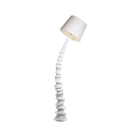 Торшер Kink Light Торнадо 7047-1,01, 1xE27x40W, белый, пластик