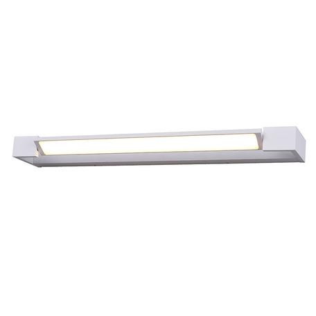 Настенный светодиодный светильник Azzardo Dali AZ2796, IP44, LED 36W 3000K 4320lm, белый, металл