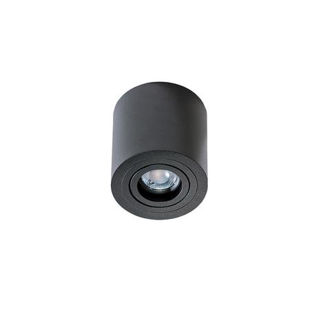 Потолочный светильник Azzardo Brant AZ2819, IP44, 1xGU10x50W, черный, металл