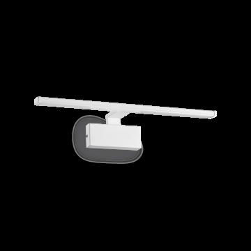 Ideal Lux ALMA AP 12W BIANCO 224985, LED 12W 3000K 820lm, белый, металл, металл с пластиком