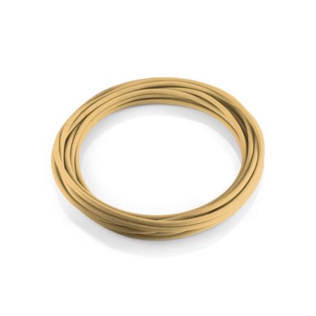 Кабель Ideal Lux Cavo Tessuto 249162, коричневый, текстиль - миниатюра 1