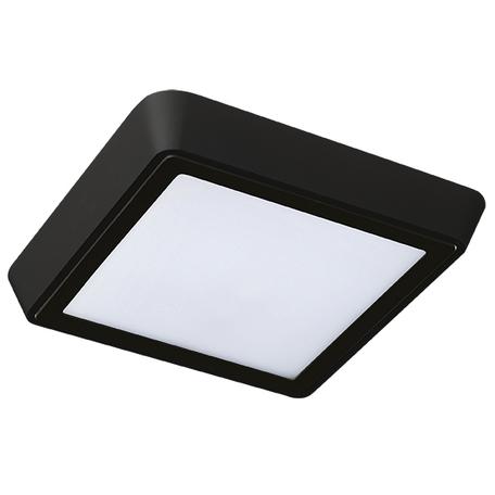 Настенный светодиодный светильник Lightstar Urbano 216874, IP65, LED 20W 4000K 1480lm, черный, черно-белый, металл с пластиком