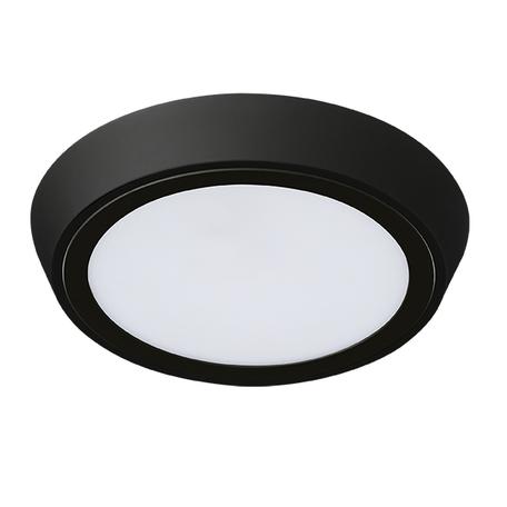 Настенный светодиодный светильник Lightstar Urbano 216972, IP65, LED 20W 3000K 1480lm, черный, черно-белый, металл с пластиком