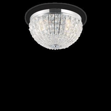 Потолочная люстра Ideal Lux CALYPSO PL6 066417, 6xE14x40W, хром, прозрачный, металл, стекло