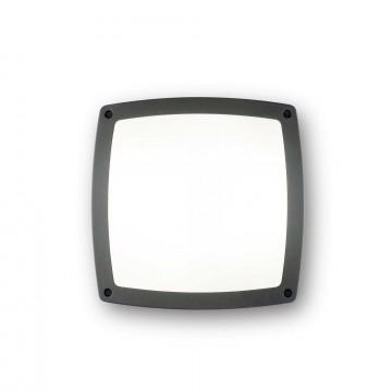 Потолочный светильник Ideal Lux COMETA PL3 ANTRACITE 082240, IP54, 3xE14x28W, темно-серый, металл, металл с пластиком, пластик