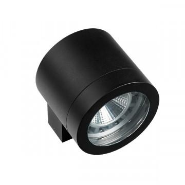 Настенный светильник Lightstar Paro 350617, IP65, 1xAR111x20W, черный, металл