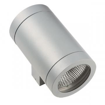 Настенный светильник Lightstar Paro 351619, IP65, 2xAR111x20W, серый, металл