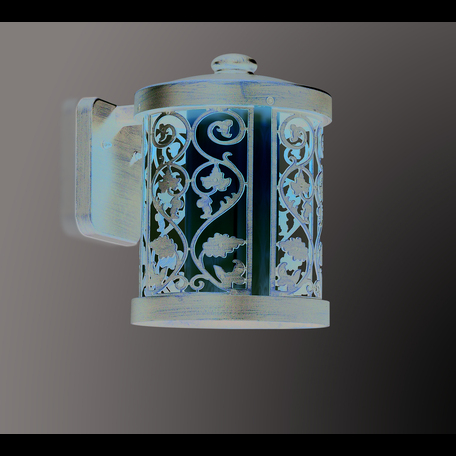 Настенный фонарь Odeon Light Nature Lagra 2286/1W, IP44, 1xE27x100W, коричневый, металл