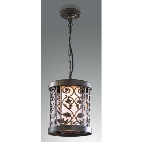Подвесной светильник Odeon Light Kordi 2286/1, IP44, 1xE27x100W, коричневый, белый, металл, пластик