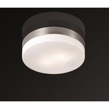 Потолочный светильник Odeon Light Presto 2405/2C, IP44, 2xE14x40W, никель, белый, металл, стекло