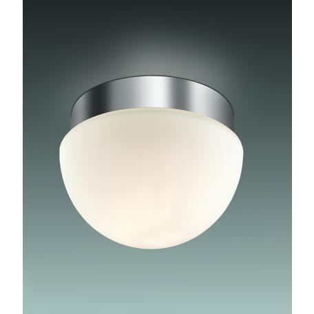 Потолочный светильник Odeon Light Drops Minkar 2443/1A, IP44, 1xG9x40W, хром, белый, металл, стекло