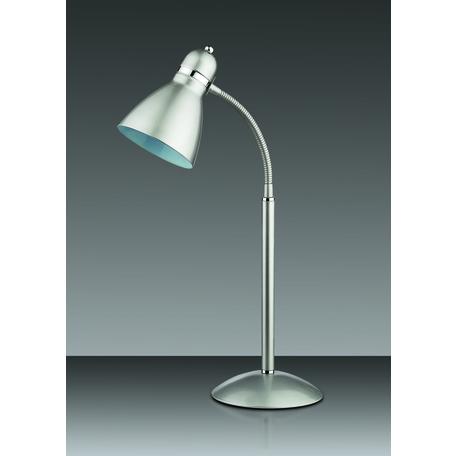 Настольная лампа Odeon Light Standing Mansy 2409/1T, 1xE27x60W, серебро, металл