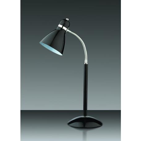 Настольная лампа Odeon Light Standing Mansy 2410/1T, 1xE27x60W, черный, металл