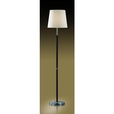 Торшер Odeon Light Modern Glen 2266/1F, 1xE27x60W, черный, белый, металл, текстиль