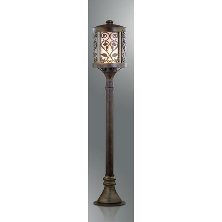 Уличный фонарь Odeon Light Nature Lagra 2286/1A, IP44, 1xE27x100W, коричневый, металл
