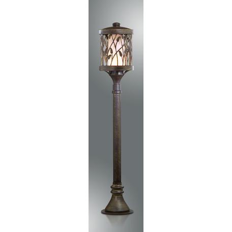 Уличный фонарь Odeon Light Nature Lagra 2287/1A, IP44, 1xE27x100W, коричневый с золотой патиной, коричневый, металл