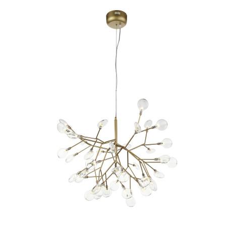 Подвесная люстра ST Luce Riccardo SL411.203.45, 45xG4x1,5W, матовое золото, прозрачный, металл, стекло