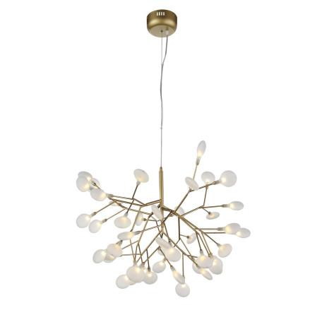 Подвесная люстра ST Luce Riccardo SL411.223.45, 45xG4x1,5W, матовое золото, белый, металл, стекло