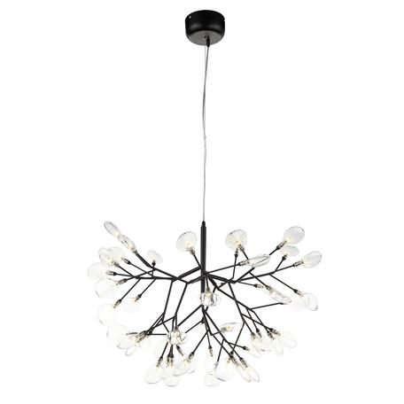 Подвесная люстра ST Luce Riccardo SL411.403.45, 45xG4x1,5W, черный, прозрачный, металл, стекло
