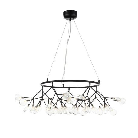 Подвесная люстра ST Luce Riccardo SL411.433.45, 45xG4x1,5W, черный, прозрачный, металл, стекло